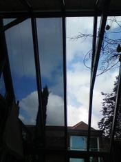 hot conservatory, solar film, silver reflective film, heat ...